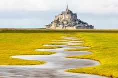 Meander of the Mont Saint-Michel at Spring Tide by Loïc Lagarde on 500px