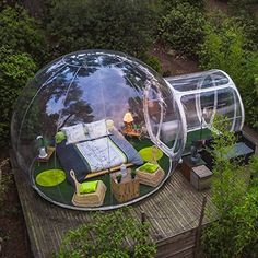 Free Fan Inflatable Bubble House Dia Outdoor Bubble Tent For Camping PVC Bubble Tree Tent/Igloo Tent Bubble Tree, Bubble House, Backyard Camping, Outdoor Camping, Camping Outdoors, Diy Camping, Backyard Greenhouse, Camping Hacks, Backyard Landscaping