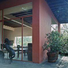 Casa Eduardo Prieto Lopez - Jardines del Pedregal Mexico City Luis Barragán 1950