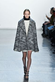 The Coats We Want to Snuggle Up In Now, Straight From the Fall 2015 Runways  - ELLE.com