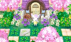 Animal Crossing Towns ❤