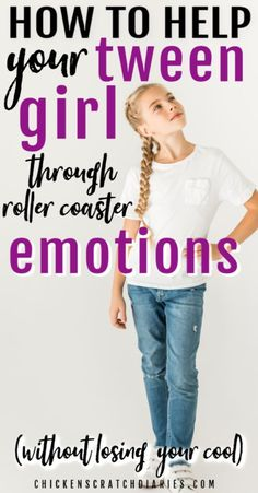 "Raising girls through the tween/preteen years (and even beyond) can be a perplexing task but here are some tools to help guide your daughter through the ""girl drama"" moments - without going nuts! #Tweens #Girls #Parenting"