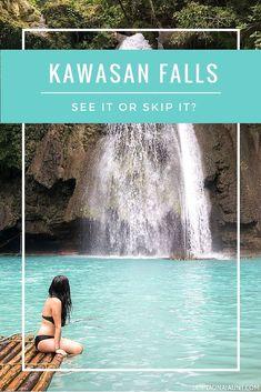 A few hours outside of Cebu City, Philippines lies a beautiful waterfall called Kawasan Falls. Hidden gem or tourist trap? You be the judge.  http://jannaonajaunt.com