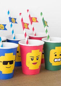 Foto y Diseño: POSTREADICCIÓN. Impresión y recorte aquí: http://articulo.mercadolibre.com.ar/MLA-600464322-cumpleanos-lego-kit-deco-impresion-y-recorte-_JM