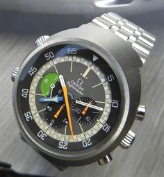 Absolutely Mint Vintage Omega Flightmaster Chronograph Circa 1970s