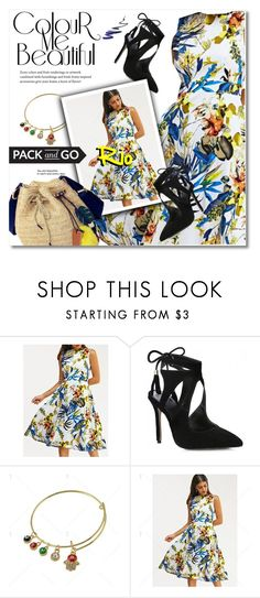 """Pack and Go: Rio"" by svijetlana ❤ liked on Polyvore featuring vintage, polyvoreeditorial, rio and twinkledeals"