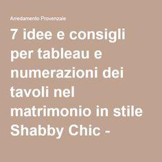 Oltre 1000 idee su Tavoli Shabby Chic su Pinterest  Shabby Chic ...