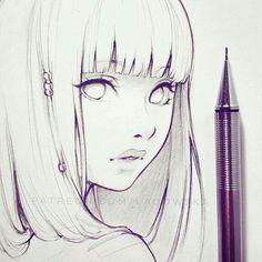 Anime girl sketch art inspo, sketch art, girl sketch, anime sketch, drawing s Manga Drawing, Manga Art, Drawing Sketches, Anime Art, Sketch Drawing, Sketching, Manga Anime, Cartoon Drawings, Pencil Drawings