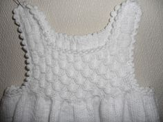 Pet Clothes, Doll Clothes, Crochet Baby, Knit Crochet, Knit Patterns, Ruffle Blouse, Diy, Knitting, Lace
