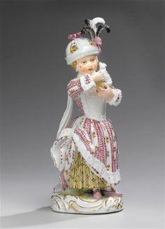 Plastik: Mädchen mit Spielzeug Dresden, Museum, Online Collections, Russian Art, Bone China, Objects, Antiques, Enamels, Embellishments