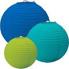 cool paper lanterns - partycity.com