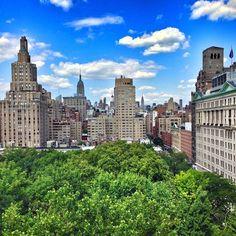 Cityscape from #NYU #WashingtonSquarePark - http://washingtonsquareparkerz.com/cityscape-from-nyu-washingtonsquarepark/