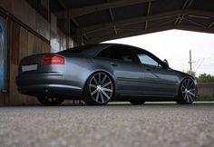 """22"""" Vossen CV4 on Audi A8!"""