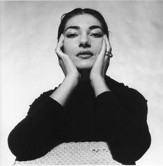 Maria Callas, 1950s...I love her look!
