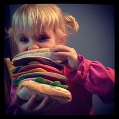 What did YOU pack your child for lunch? #feltfood #yummmm
