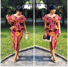Super Stylish and Vibrant Ankara Skirt and Blouse Styles for Beautiful Ladies.Super Stylish and Vibrant Ankara Skirt and Blouse Styles for Beautiful Ladies Latest African Fashion Dresses, African Inspired Fashion, African Print Dresses, African Print Fashion, African Dress, African Prints, Ankara Short Gown Styles, Trendy Ankara Styles, Short Gowns