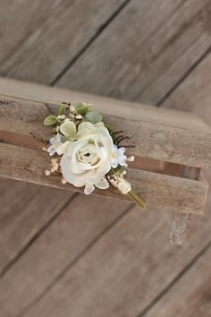 groom's boutonniere by EvaFleurs on Etsy Groom Boutonniere, Fall Flowers, Flowers In Hair, Flower Head Wreaths, Hair Comb Wedding, Maternity Pictures, Grooms, Flower Crown