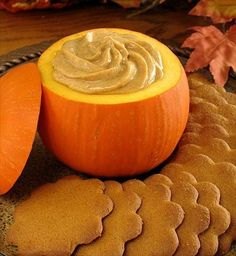 Pumpkin dip - with cream cheese