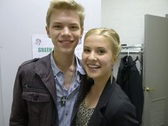 """Kenton Duty and Caroline Sunshine from the hit show """"Shake It Up"""" on Disney Channel."""