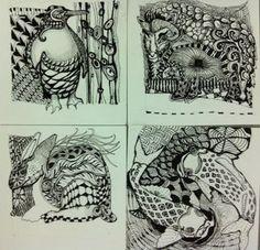 Interesting works!  Very creative
