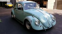 Daily Turismo: B is for Boosted: Turbocharged 1966 Volkswagen Type 1 (Beetle)