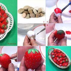 Strawberry stones
