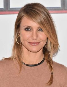 Cameron Diaz And Husband Benji Madden Expecting A Baby?: Cameron Diaz And Husband Benji Madden Expecting A Baby? Celebrity Hairstyles, Cool Hairstyles, Celebrity Faces, Celebrity Beauty, Round Face Celebrities, Permanent Laser Hair Removal, Beautiful Haircuts, Haircuts For Fine Hair, Hair Images
