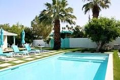 8 Bedrooms! An amazing vacation experience awaits you at California Way — an ideal configuration of lodging accommodations for vacations or reunions in Palm Springs. Sleeps up to 20.    This Palm Spri...