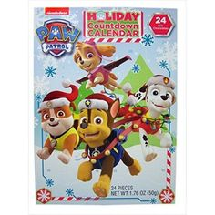 2016 Christmas Advent Holiday Countdown Calendar with 24 Milk Chocolates (Nickelodeon PAW Patrol)  Calendar includes 24 #Milk #Chocolate Pieces - Color Your Own Ornaments on back of Calendar  Features : Calendar includes 24 Milk Chocolate Pieces *Color Your Own Ornaments on back of Calendar  Size : Nickelodeon PAW Patrol