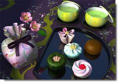 wagashi, doces tradicionais japoneses