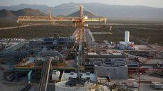 Conflicto en mina Peñasquito afecta producción de Goldcorp, a proveedores y comercio local