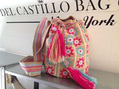Beautiful. Luxury Wayuu Mochila Bag   Handmade in Colombia. www.delcastillobagcompany.com #wayuumochilabag #wayuu #mochila #boho #bohemian #style #colombia #chic #hippie #fashion #beachbag #pattern #summer #spring #crochet #stylish #handbag #bag #musthave #fashiontrend #trend #hipster #hip