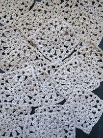 omⒶ KOPPA: Kukkamandalaruutu - VILLATAKKI - omA variaatio Crochet Coat, Crochet Cardigan, Crochet Clothes, Crochet Symbols, Crochet Stitches, Crochet Patterns, Doily Art, Mandala Yarn, Crochet Squares