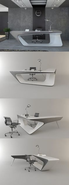 Long extending desk can be applied as the pedestal or helmsman local area.