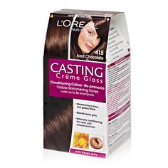 Chocolate Cast, Loreal Casting Creme Gloss, Royal Jelly, Make Me Up, Hair Health, Loreal Paris, Conditioner, It Cast, Ice