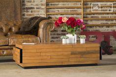 La mesa de centro Sheffield es una mesa de centro vintage hecha de madera y se verá bonita dentro de cualquier hogar.