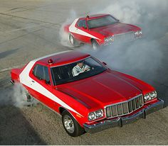 """When you say """"Starsky and Hutch"""" it instantly conjures up memories of their awesome red and white Gran Torino, the smoothest car for the law... #video #spon"""