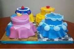 disney princess cakes   33 Disney Crafts, Ideas,  Recipes