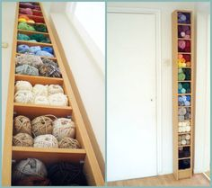 How do you store your yarn without going crazy?