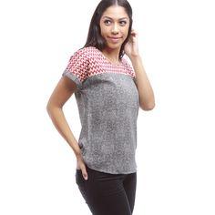 Angela Print Shirt