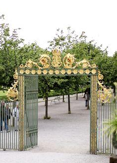 Drottningholms Royal Garden (Sweden)
