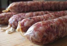 Saucisson Sec Recipe - Homemade Sausage Recipe