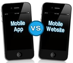 Mobile #App Vs #Mobile Website - Which is better for online business???  Both Mobile apps and Mobile websites are viewed on smart phones just like the #iPhone, Blackberries, and Windows smart phones, and each can facilitate together with your mobile selling campaign and presence.