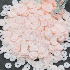 Cekiny łamane pastelowe brzoskwiniowe [ 5g ] Sequins, Stone, Flowers, Plants, Diy, Rock, Bricolage, Stones, Do It Yourself