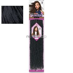 """Bobbi Boss African Roots Braid Collection Micro Locs 14"""" - Color 1 - Synthetic Braiding"""