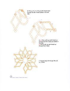 Схемы: Снежинка Women's Jewelry - http://amzn.to/2j8unq8