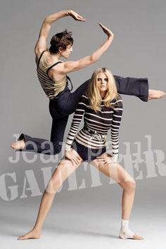 Lara Stone for Jean Paul Gaultier Spring Summer 2009   Design Scene - Fashion, Photography, Style & Design