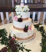 Floral Wedding Cake www.fkpastries.com French Kiss Pastries | CUSTOM CAKES