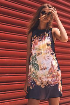 Varese Silk Dress - anthropologie.com