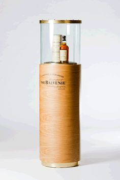 Bespoke display unit designed by Sheridan for Balvenie limited edition whisky